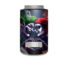Skin Decal For Yeti Rambler Colster Cup Harleyquin And Joke Love For Sale Online