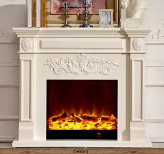 wood fireplace mantel w130cm with