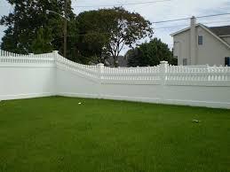 Semi Privacy Vinyl Fences Massachusetts Fence Installation Company