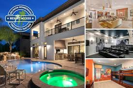 9 Bed Villa With Theater Room Custom Kids Bedroom Game Room Private Pool Spillover Spa