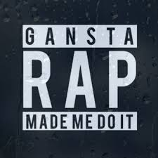 Gansta Rap Made Me Do It Car Decal Vinyl Sticker For Panel Or Window Or Bumper Archives Midweek Com