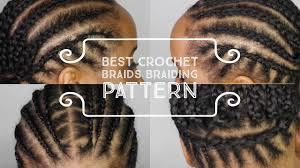 best cornrow braiding pattern to get