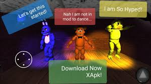 fnaf free roam vincent xapk by