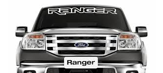 Vinyl Windshield Banner Decal Stickers Fits Ford Ranger Sticker Flare Llc
