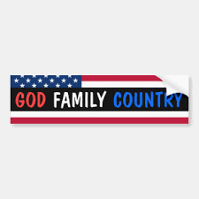 For God And Country Bumper Stickers Decals Car Magnets Zazzle