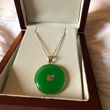 jewelry jade good luck necklace