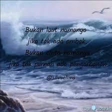bukan laut namanya jika quotes writings by silvi vellina