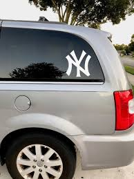 New York Yankees Vinyl Decal Yankees Car Window Decal New Etsy Vinyl Decals Vinyl Laptop Decal