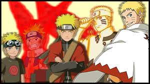 Evolution of Naruto Uzumaki