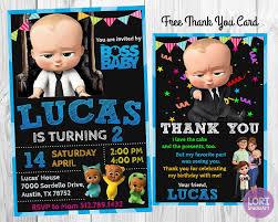 Boss Baby Boss Baby Invitation Boss Baby Birthday Boss Baby Bebe