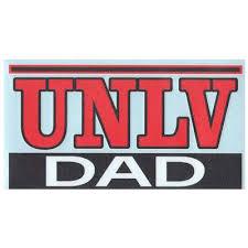Unlv Rebels Transfer Decal Dad