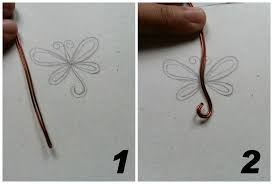 dragonfly pendant how to make a wire