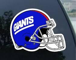 Ny Giants Decal Etsy