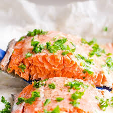 baked salmon in foil video