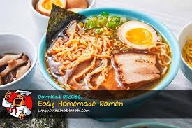 how to make easy homemade ramen