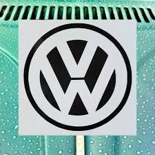 Volkswagen Car Decal Volkswagen Decal Volkswagen Sticker Vw Etsy