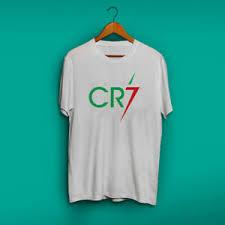 cr7 cristiano ronaldo white t shirt