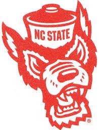 Wuf North Carolina Nc State University Wolfpack Ncsu Wolf Pack Logo Removable Wall Decal Sticker Art