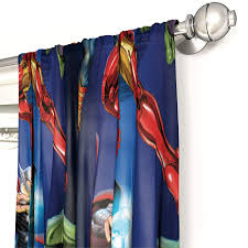 Teen Boys Bedroom Marvel Avengers Curtains Captain America Kids Room Design