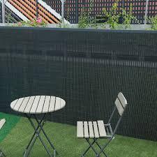 pvc bamboo fence screen panels garden