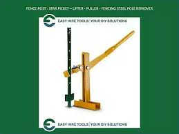 Steel Fence Post Lifter Star Picket Remover Fencing Puller Electric Fence Puller Business Industrial Other Agriculture Forestry Fundacion Traki Com