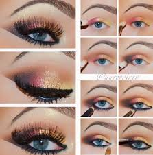 20 easy blue eyes makeup tutorials for