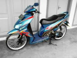 modifikasi motor matic honda vario