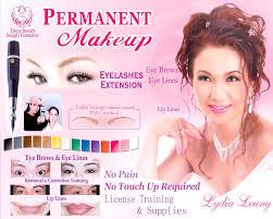 permanent makeup ca saubhaya