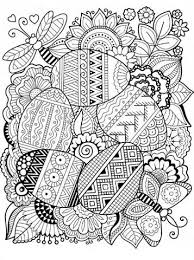 Kids N Fun Com 12 Coloring Pages Of Easter Eggs