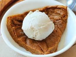 crustless pumpkin pie crazy low in