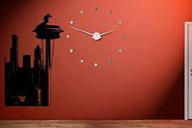 Amazon Com Wall Tattoo Cute Design Seattle Skyline City Sights Wall Sticker Decal 2423 Kitchen Dining