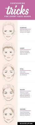 round face images contour makeup