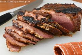 Baked Dijon-Brown Sugar Corned Beef ...