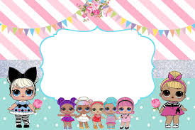 Convite Lol Surprise Free Sonhoencantadocb Blogspot Jpg 1 600