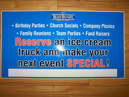 Buy Reserve For Your Event Vinyl Decal Sticker Ice Cream Truck Or Water Ice Van Motorcycle In Philadelphia Pennsylvania Us For Us 29 99