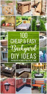 100 and easy diy backyard ideas