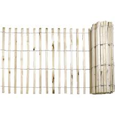 Everbilt 1 2 In X 4 Ft X 50 Ft Natural Wood Snow Fence 14910 9 48 The Home Depot Wood Snow Fence Snow Fence Wood Fence