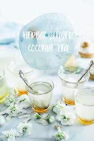 herbal ginger coconut tea omnivore s