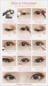 korean eyes makeup tutorial image