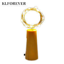 Nút bần chai rượu vang gắn đèn LED dây 10 bóng trang trí tiệc, giá chỉ  31,211đ! Mua ngay kẻo hết!