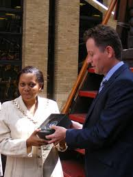 Southwark Mayor Althea Smith ends year as borough's first citizen with  Golden Hinde reception [23 May 2013]
