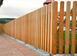Garden Fence Stabello Tubo Inox Frisian Vertical Braun Wuerfele With Bars Stainless Steel Pine