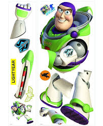 York Wallcoverings Toy Story Buzz Giant Peel And Stick Wall Decal Reviews All Wall Decor Home Decor Macy S