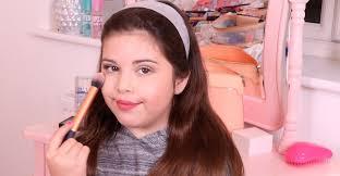 age to start wearing makeup
