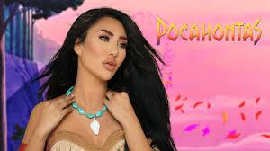 pocahontas disney princess makeup