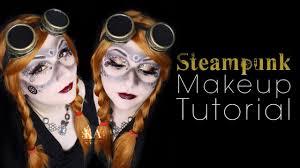 steunk halloween makeup tutorial