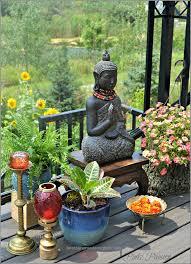 outdoor garden zen place buddha