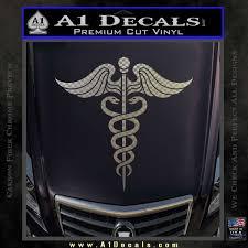 Caduceus Medical Symbol D4 Decal Sticker A1 Decals
