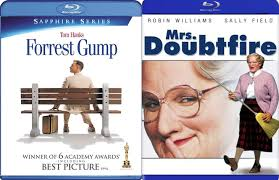 Amazon.com: Gump & Doubtfire 2-Movie Collection Blu Ray Forrest Gump Tom  Hanks & Mrs. Doubtfire Robin Williams Bundle Set: Tom hanks, Robin  Williams: Movies & TV