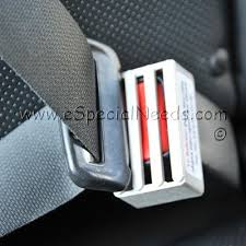 seat belt buckle guard special needs